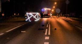 Tragiczny wypadek na drodze krajowej