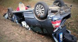 Trzy samochody zderzyły się na krajówce. Sprawca był pijany [zdjęcia]