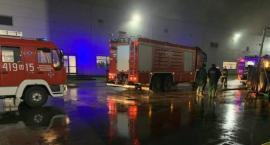 Pożar na terenie zakładu pod Ciechanowem. Ewakuowano około 150 pracowników