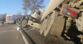 Policyjne ustalenia ws. zderzenia ciężarówek pod Glinojeckiem [zdjęcia]