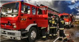 Pożar domu w Ciechanowie