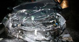 Cztery osoby ranne w wypadku na