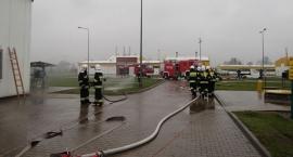 Straż pożarna w Tłoczni Gazu Ciechanów (zdjęcia)