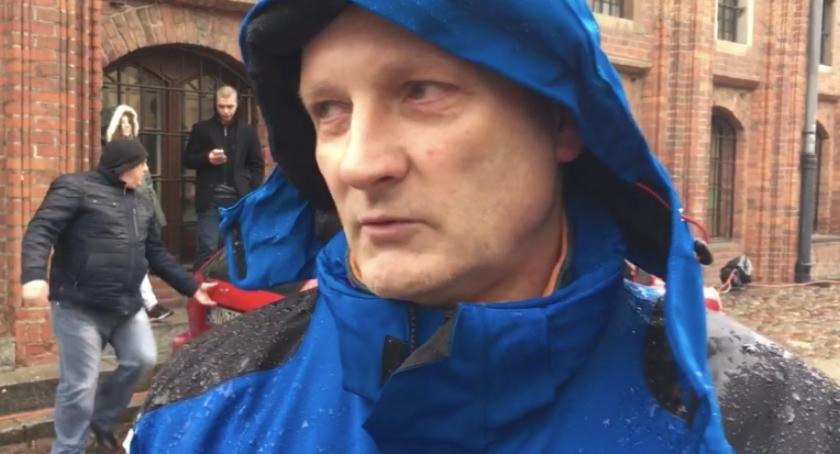 Rozmowy, Ryszard Mosiołek Rząd psuje państwo Rozmawiamy liderem toruńskiego - zdjęcie, fotografia
