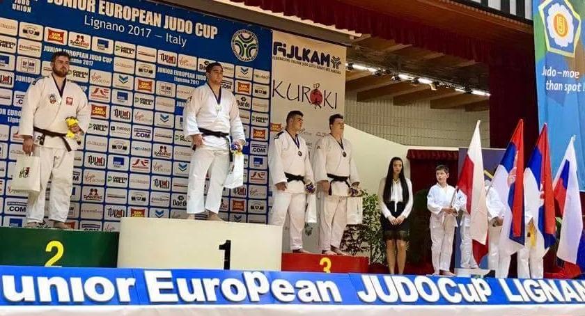 Rozmowy, Rośnie kolejny olimpijczyk Toruń rozmawia judoką Krzysztofem Załęcznym - zdjęcie, fotografia
