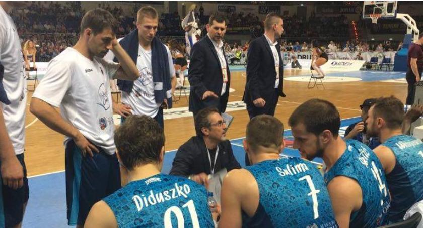 Koszykówka, Polski Cukier europejskich pucharów - zdjęcie, fotografia