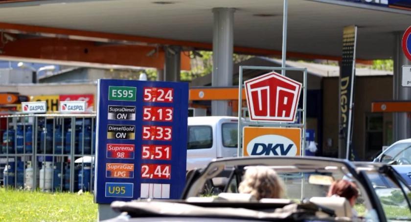 Drogi, Torunia zniknie jedna stacji benzynowych - zdjęcie, fotografia