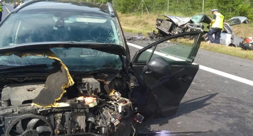 Wiadomości, Tragiczny wypadek letnia kobieta żyje [FOTO] - zdjęcie, fotografia