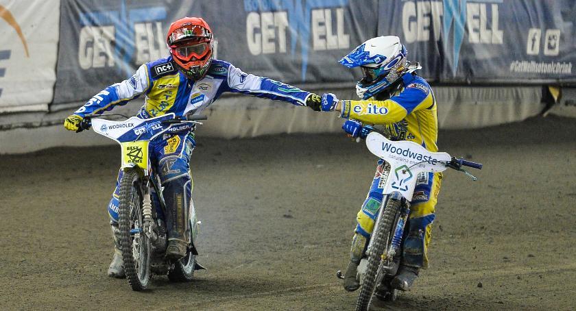 Get Well Toruń, zawodnicy spisują Motoarenie Sprawdzamy! - zdjęcie, fotografia