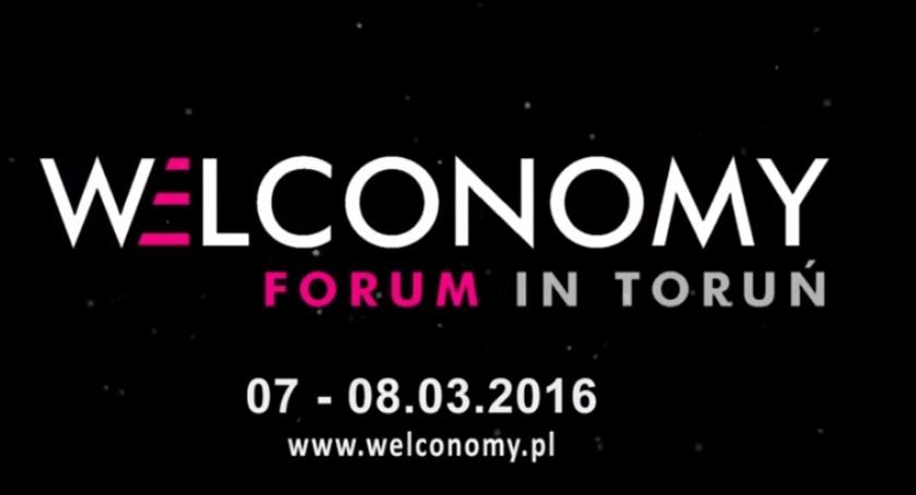Biznes, Welcome economy! Forum Gospodarcze które zmienia tylko Toruń - zdjęcie, fotografia