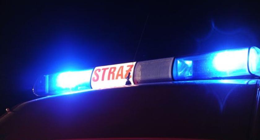 Straż pożarna, Wybuch dworcu Toruń Główny! akcja strażaków - zdjęcie, fotografia