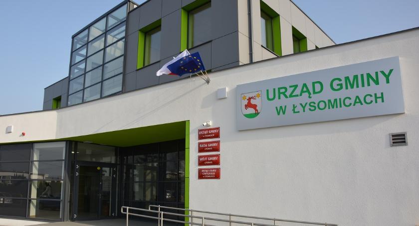 Łysomice, Siedziba Urzędu Gminy Łysomice modernizacji wrażenie [FOTO] - zdjęcie, fotografia