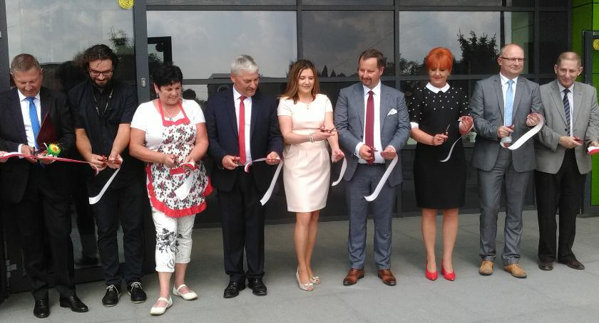 Inwestycje, Wielkie święto Łysomicach siedziba gminy oficjalnie otwarta [FOTO] - zdjęcie, fotografia