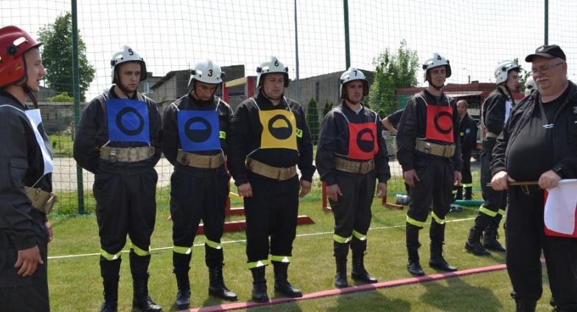 Straż pożarna, strażacy rywalizowali Kończewicach [FOTO] - zdjęcie, fotografia