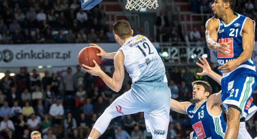 Koszykówka, Torunianie nadal finał! - zdjęcie, fotografia