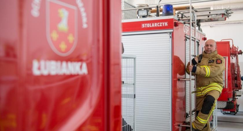 Kujawsko-Pomorskie, Sebastian Bytyń Bycie strażakiem sposób życie - zdjęcie, fotografia