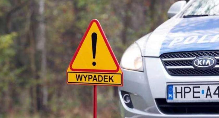 Wypadki, Tragiczna śmierć kierowcy Droga całkowicie zablokowana [PILNE] - zdjęcie, fotografia