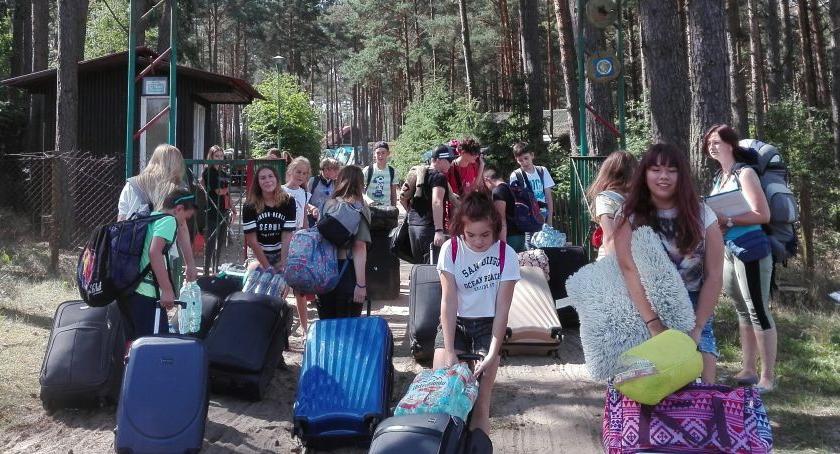 Szkoły i licea, Drużyna pożarnicza gminy Chełmża kolejnym obozie [FOTO] - zdjęcie, fotografia