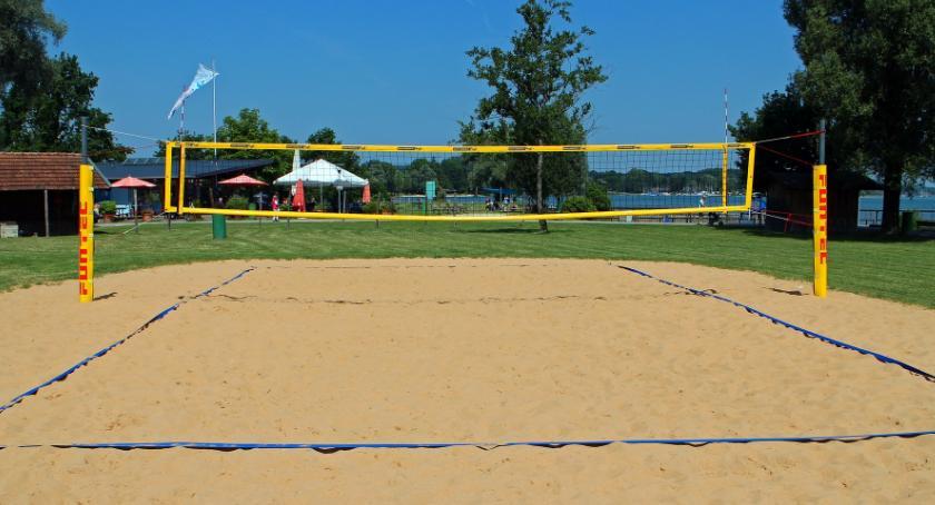 Relaks, Najbardziej wakacyjny sport Siatkówka plażowa - zdjęcie, fotografia