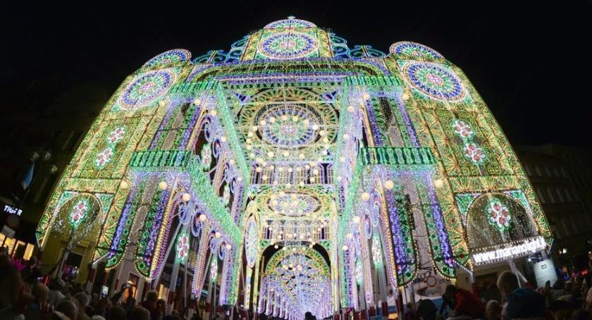Wydarzenie, Skyway Sprawdź największe atrakcje Festiwalu Światła! - zdjęcie, fotografia
