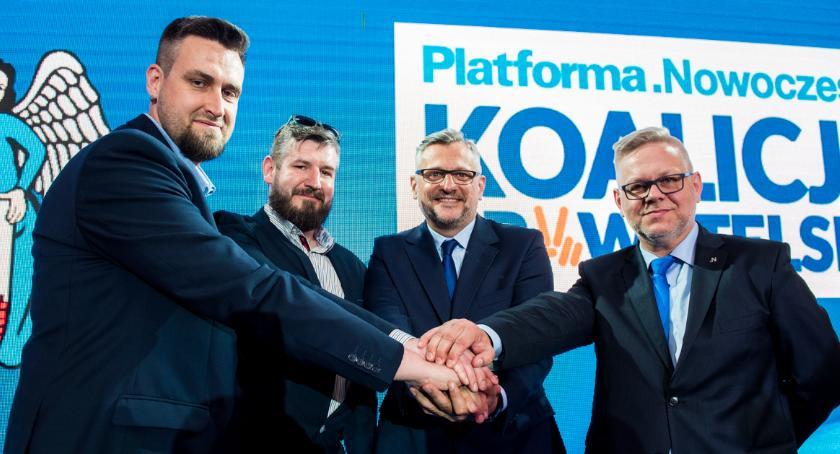 Partie Polityczne, Koalicja Obywatelska rozpoczęła kampanię wyborczą Toruniu zapowiada specjalny projekt - zdjęcie, fotografia