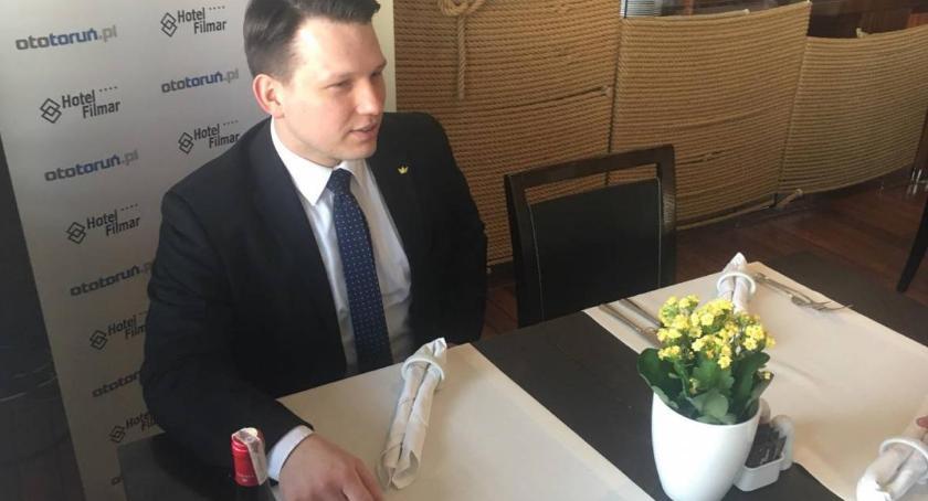 Partie Polityczne, kolejny kandydat prezydenta Torunia! - zdjęcie, fotografia