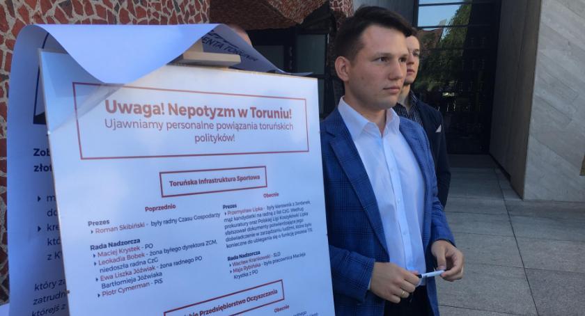 Prezydent Torunia, Sławomir Mentzen ogłosił konkurs Nagroda tysięcy złotych [FOTO] - zdjęcie, fotografia