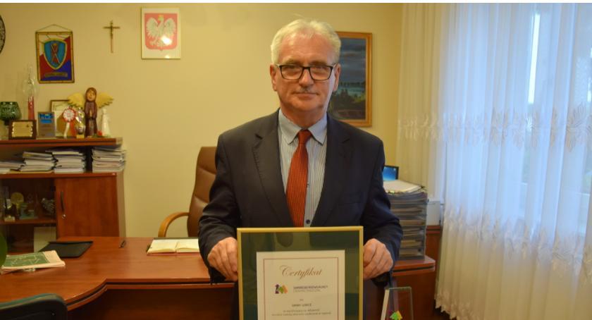 Biznes, Gmina Lubicz prestiżową nagrodą - zdjęcie, fotografia