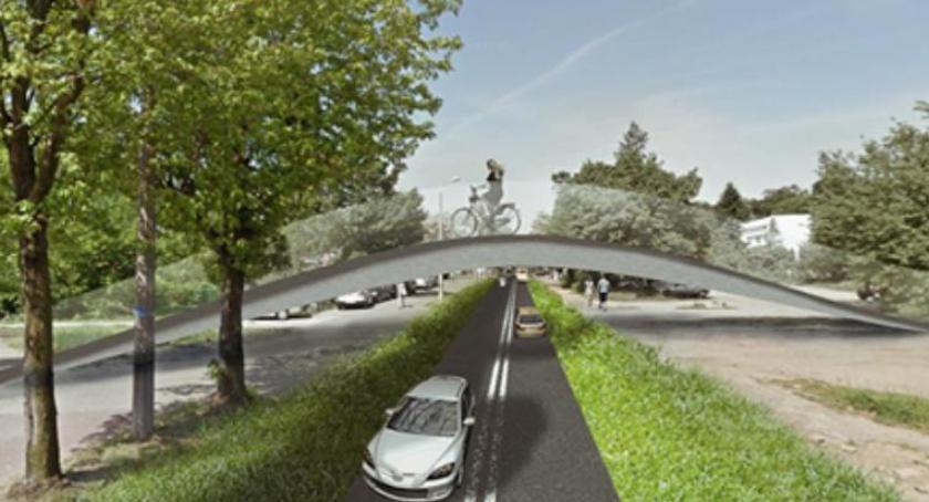 Inwestycje, Zielony Torunia może rewolucja pieszych rowerzystów biegaczy - zdjęcie, fotografia