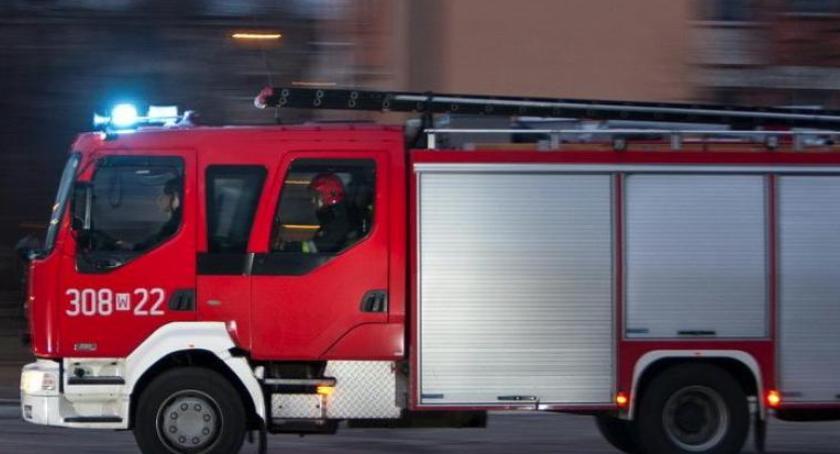 Straż pożarna, Uwaga! Pożar Toruniem droga zablokowana [PILNE] - zdjęcie, fotografia