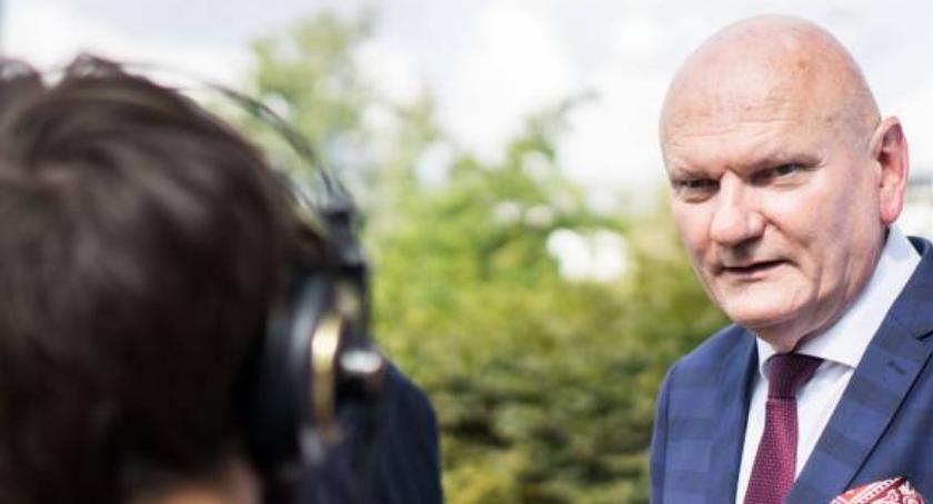 Prezydent Torunia, Michał Zaleski jeszcze minął - zdjęcie, fotografia
