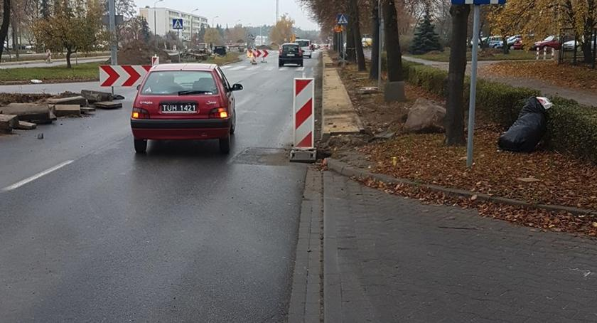 Drogi, Duże zmiany Skarpie Będą objazdy! - zdjęcie, fotografia