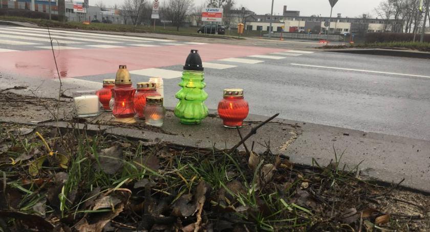 Komunikaty, Miasto reaguje śmiertelny wypadek przejściu pieszych Grudziądzkiej - zdjęcie, fotografia