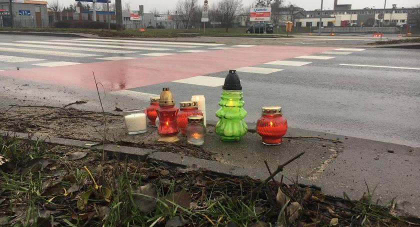Wypadki, Miasto podjęło decyzję zapewnić bezpieczeństwo feralnym przejściu Grudziądzkiej - zdjęcie, fotografia