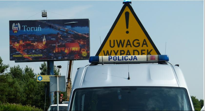 Wypadki, Kolejne potrącenie przejściu pieszych Toruniu - zdjęcie, fotografia