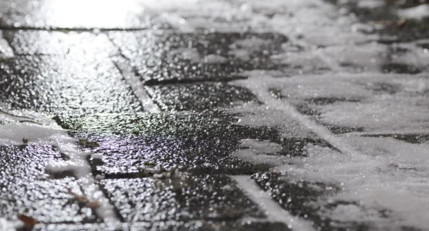 Pogoda, Uwaga! ostrzeżenie Torunia okolic - zdjęcie, fotografia