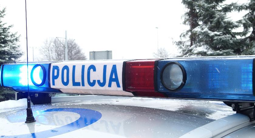 Sprawy kryminalne, Policyjny pościg latkiem który poszukiwany listem gończym - zdjęcie, fotografia