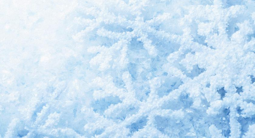 Pogoda, sypie śnieg będzie potem - zdjęcie, fotografia