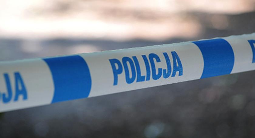 Sprawy kryminalne, Śmierć kobiety przystanku autobusowym - zdjęcie, fotografia