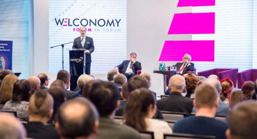 Biznes, Przed edycja Welconomy Forum Toruniu - zdjęcie, fotografia