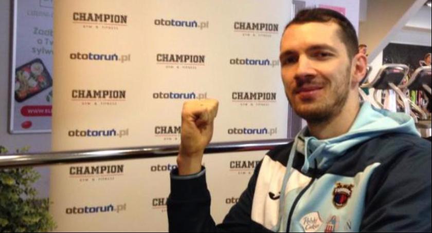 Koszykówka, Aaron Marzę mistrzostwie Polskim Cukrem - zdjęcie, fotografia