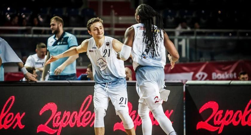 Koszykówka, Polski Cukier formie Kolejne zwycięstwo Arenie Toruń - zdjęcie, fotografia