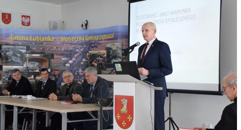 Powiat toruński, Trzeźwość warunek rozwoju podtoruńskiej gminie rozmawiano alkoholizmie [FOTO] - zdjęcie, fotografia