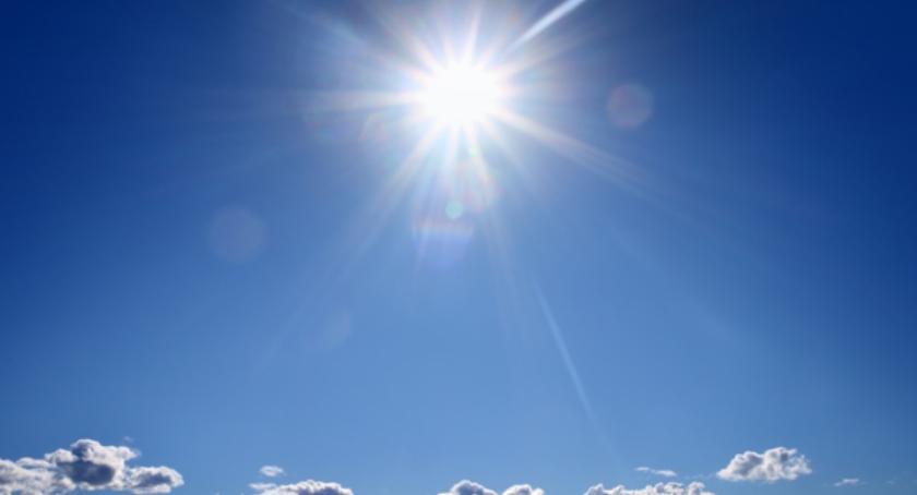 Pogoda, Dziś dużo słońca temperatura górę! - zdjęcie, fotografia
