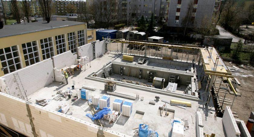 Inwestycje, Toruniu powstaje basen ruchomym ponad [FOTO] - zdjęcie, fotografia