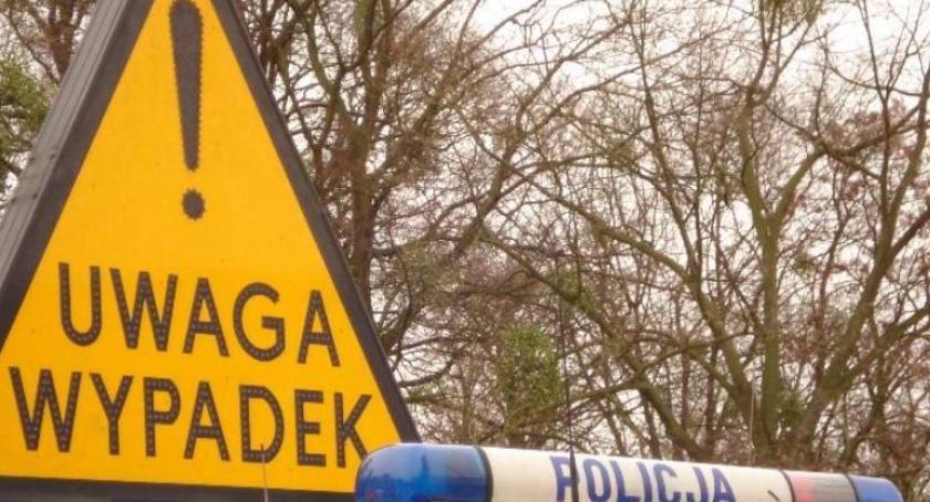 Wypadki, Uwaga! Wypadek drodze Toruniem [PILNE] - zdjęcie, fotografia