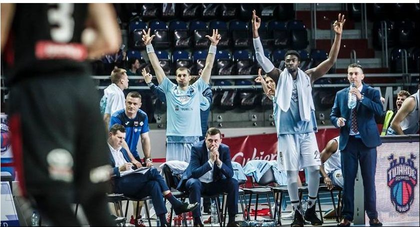 Koszykówka, Kolejny dreszczowiec Polskiego Cukru! Torunianie meldują półfinale - zdjęcie, fotografia