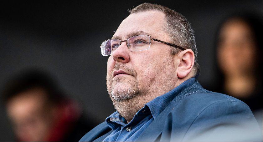 Get Well Toruń, Przemysław Termiński zareagował trakcie meczu Wrocławiu dalej Frątczakiem - zdjęcie, fotografia