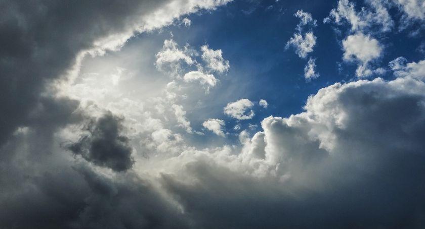 Pogoda, Dziś Toruniem pogodowa mieszanka - zdjęcie, fotografia