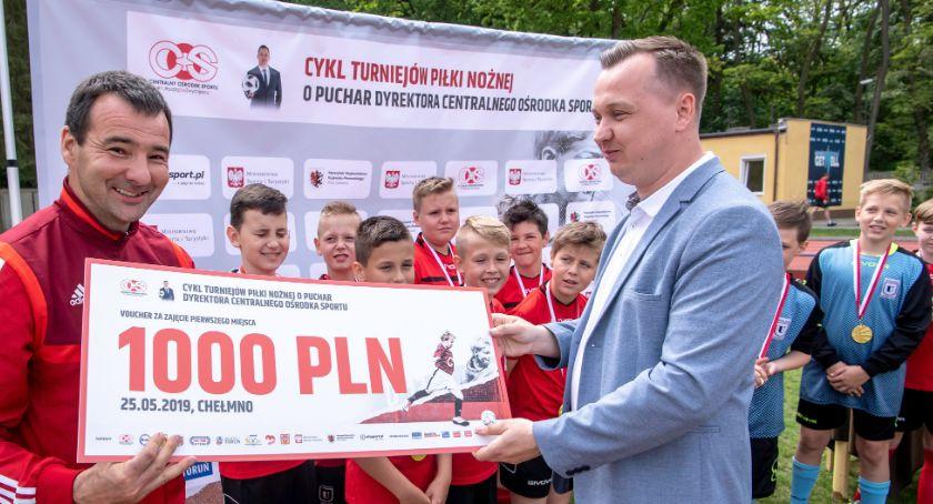 Piłka Nożna, drugi turniej Puchar Dyrektora Centralnego Ośrodka Sportu [FOTO] - zdjęcie, fotografia